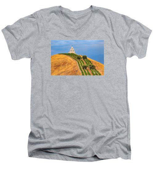 Chapel On The Hill Men's V-Neck T-Shirt
