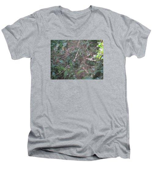 Charlotte's Web Men's V-Neck T-Shirt