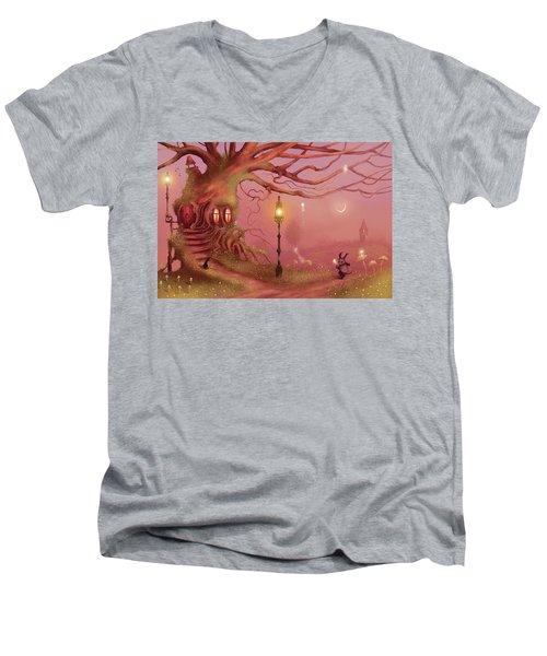 Chasing Fairies Men's V-Neck T-Shirt