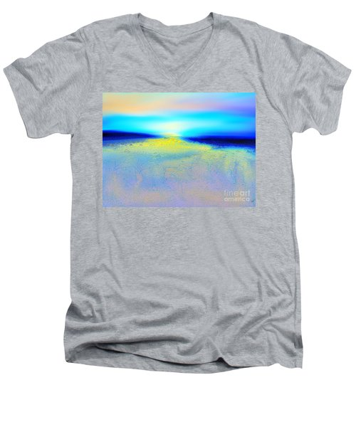 Chasing The Sun  Men's V-Neck T-Shirt