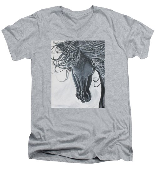 Chasing The Wind Men's V-Neck T-Shirt