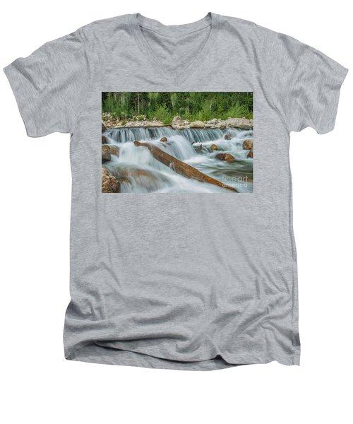 Chasm Falls Men's V-Neck T-Shirt