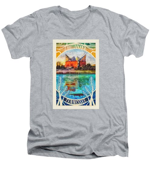 Chattanooga Aquarium Poster Men's V-Neck T-Shirt