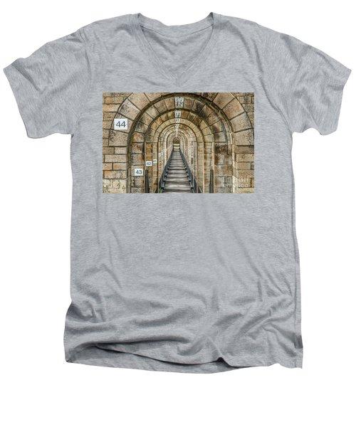 Chaumont Viaduct France Men's V-Neck T-Shirt