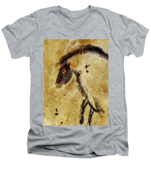 Chauvet Horse Men's V-Neck T-Shirt
