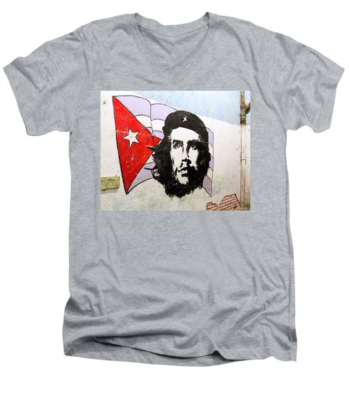 Che Guevara Men's V-Neck T-Shirt