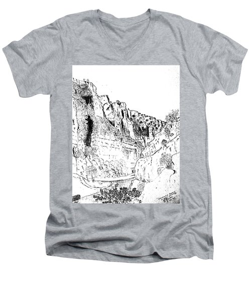 Cheddar Gorge Men's V-Neck T-Shirt