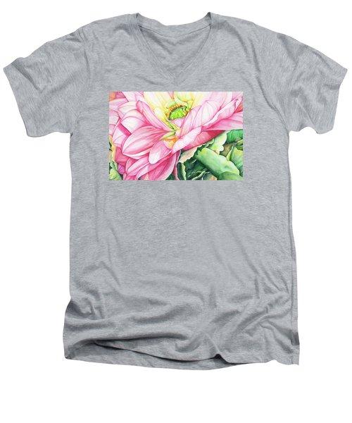 Chelsea's Bouquet 2 Men's V-Neck T-Shirt