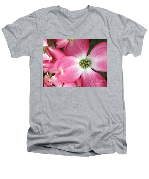 Cherokee Red Dogwood Men's V-Neck T-Shirt