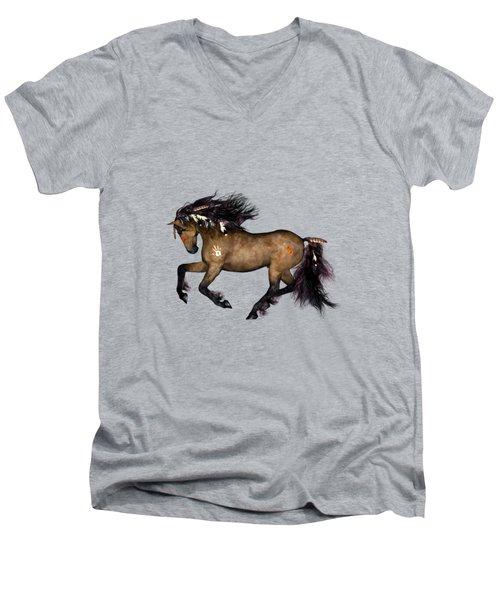 Cherokee Men's V-Neck T-Shirt