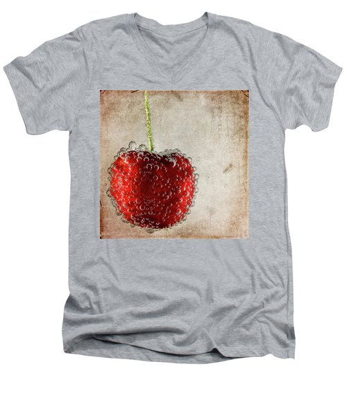 Cherry Fizz Men's V-Neck T-Shirt