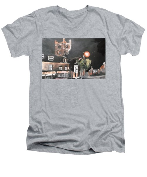 Chertsey At Night 2 Men's V-Neck T-Shirt