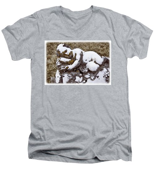 Cherub Stone Men's V-Neck T-Shirt