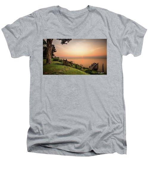 Chesapeake Morning Men's V-Neck T-Shirt