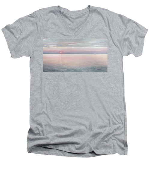 Chesapeake Sunset Men's V-Neck T-Shirt