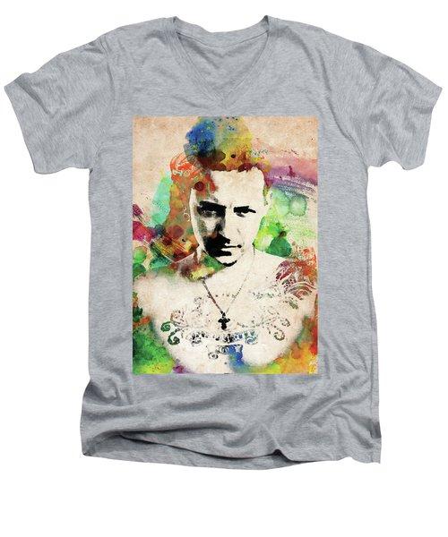 Chester Bennington Men's V-Neck T-Shirt