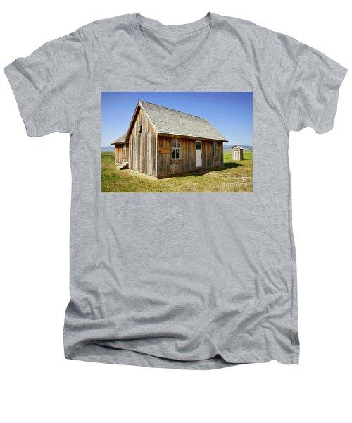 Chester Call Cabin Men's V-Neck T-Shirt