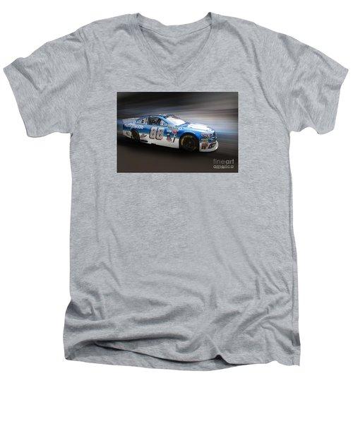 Chevrolet Ss Nascar Men's V-Neck T-Shirt by Roger Lighterness