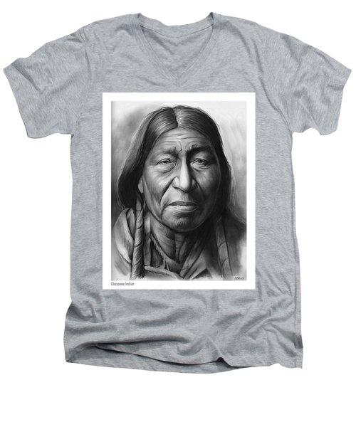 Cheyenne Men's V-Neck T-Shirt