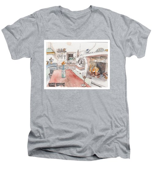 Chez Gwen Men's V-Neck T-Shirt