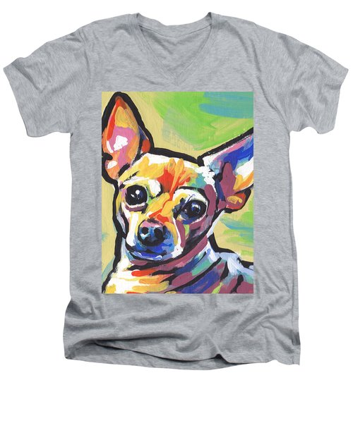 Chi Chi Cha Men's V-Neck T-Shirt