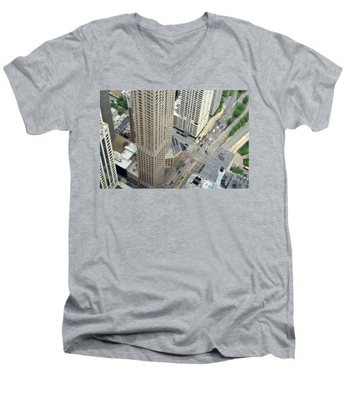 Chicago Streets Men's V-Neck T-Shirt