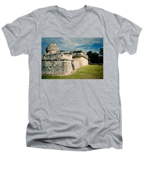 Chichen Itza 1 Men's V-Neck T-Shirt