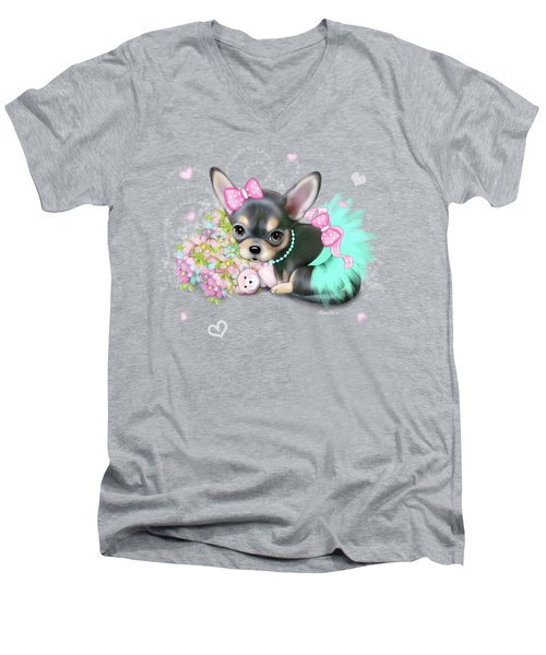Chichi Sweetie Men's V-Neck T-Shirt