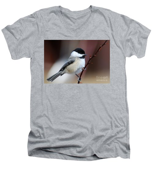 Chickadee Dee Dee Men's V-Neck T-Shirt