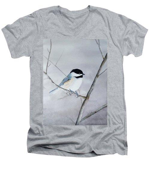 Chickadee II Men's V-Neck T-Shirt