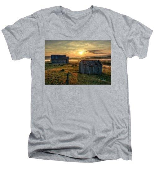 Chicken Creek Schoolhouse Men's V-Neck T-Shirt