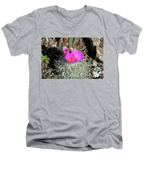 Chihuahua Snowball 2 Men's V-Neck T-Shirt