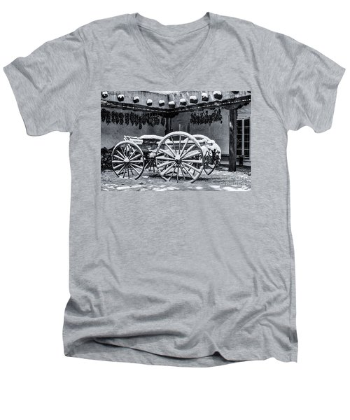 Peppers And Snow_2 Men's V-Neck T-Shirt