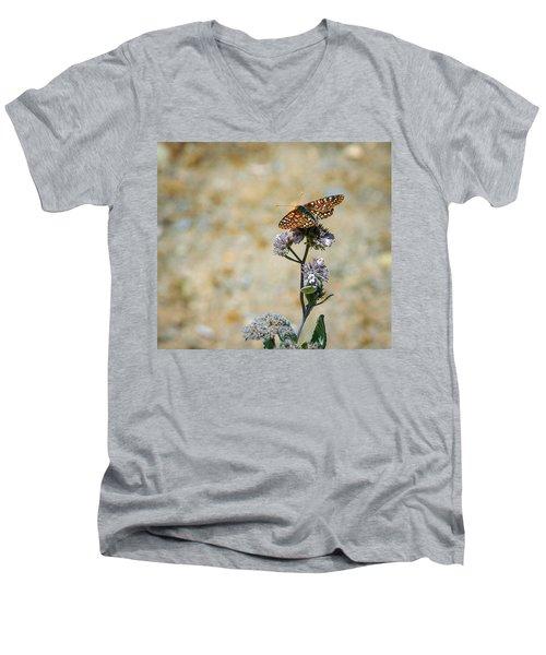 Chillin' In Color Men's V-Neck T-Shirt