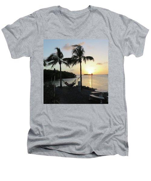 Chilling Men's V-Neck T-Shirt