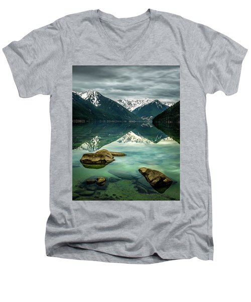 Chilliwack Lake Serenity Men's V-Neck T-Shirt