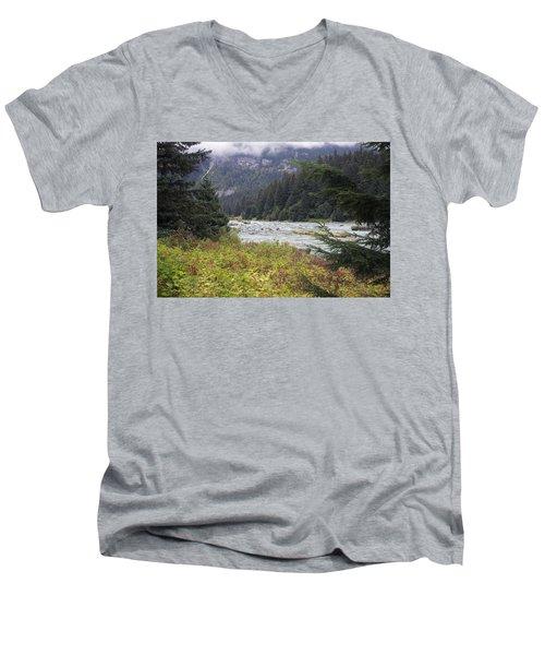 Chillkoot River 3 Men's V-Neck T-Shirt