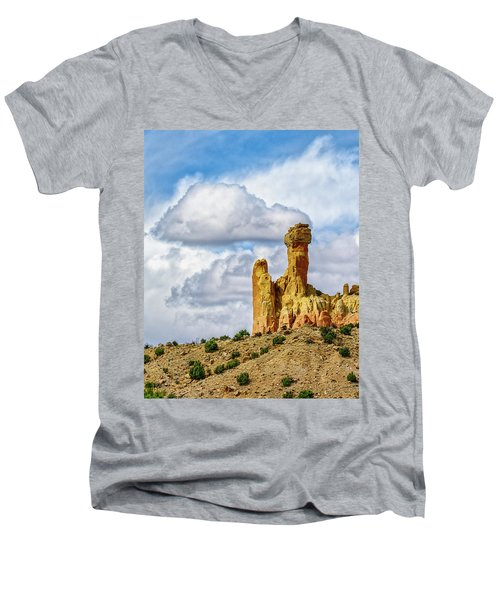 Chimney Rock  Men's V-Neck T-Shirt