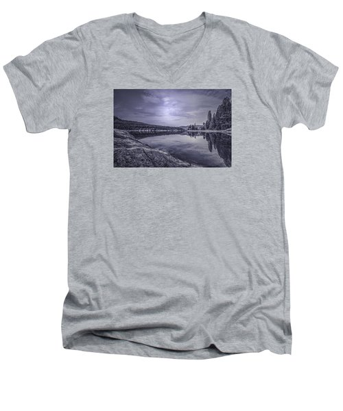 China Bend2 Men's V-Neck T-Shirt by Loni Collins