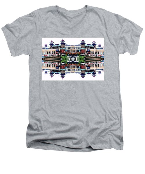 Chinatown Chicago 2 Men's V-Neck T-Shirt