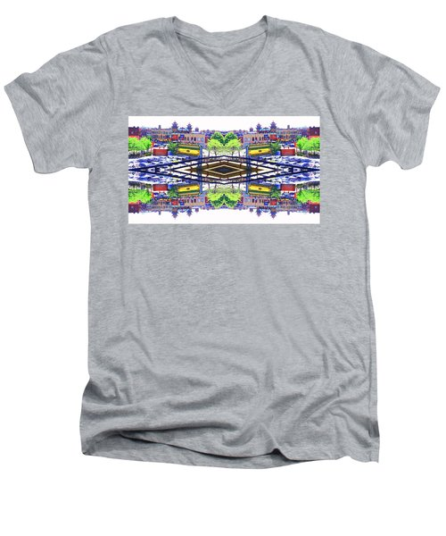 Chinatown Chicago 3 Men's V-Neck T-Shirt