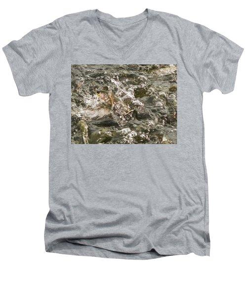Chinook Salmon  Men's V-Neck T-Shirt