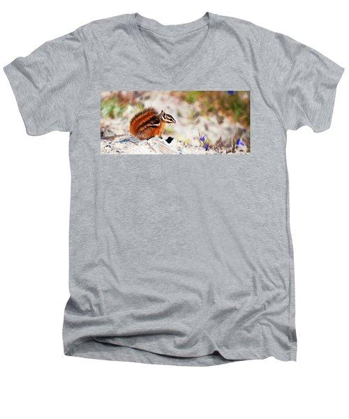 Chipper Men's V-Neck T-Shirt