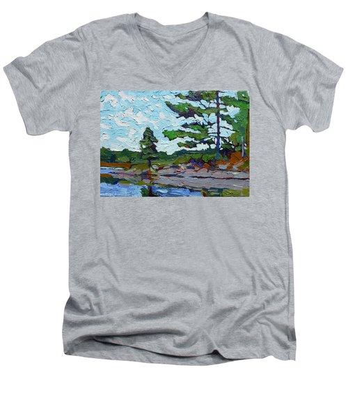 Chip's Elbow Men's V-Neck T-Shirt