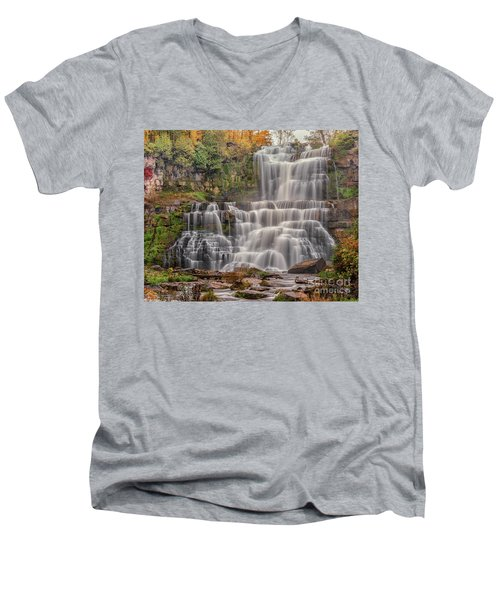 Chittenango Falls Men's V-Neck T-Shirt