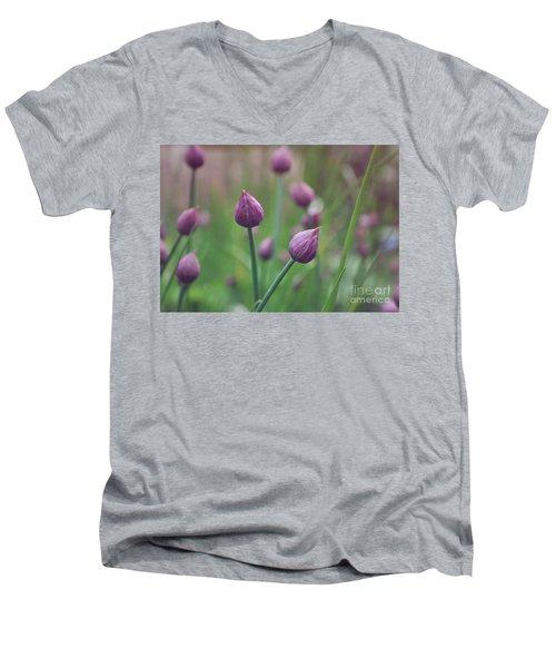 Chives Men's V-Neck T-Shirt