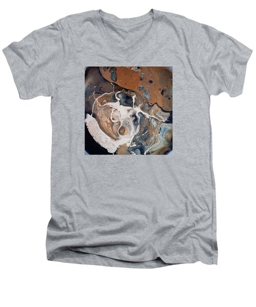 Chocolate Ice Cream Vulture Beek Men's V-Neck T-Shirt