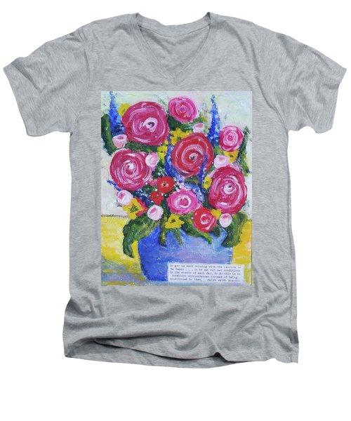 Choice Bouquet Men's V-Neck T-Shirt