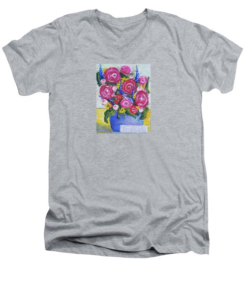 Choice Bouquet Men's V-Neck T-Shirt