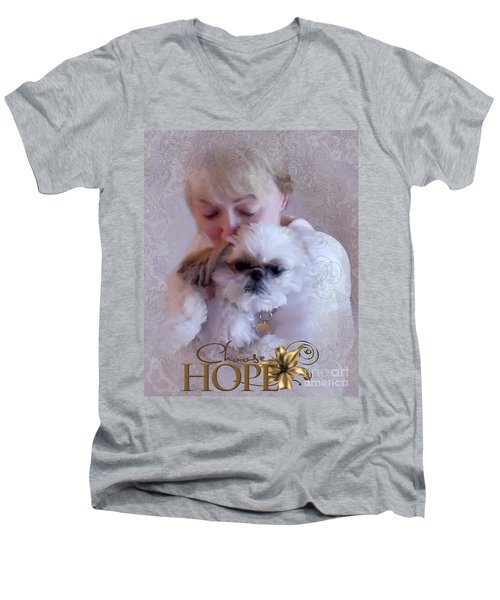 Choose Hope Men's V-Neck T-Shirt